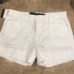 Calvin Klein white shorts
